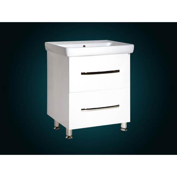 Шкаф для умывальника ДреяQ-80 2Н Альфа InnoTech + умыв ДреяQ-80