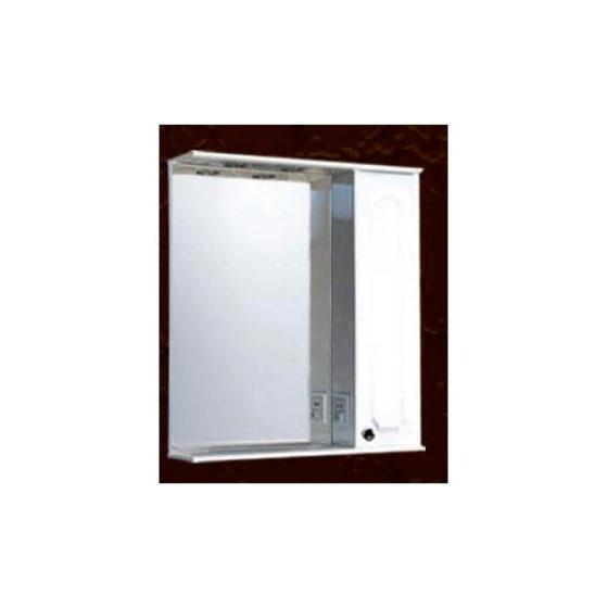 Шкаф настенный с зеркалом, светильниками ШНС-55 Калипсо