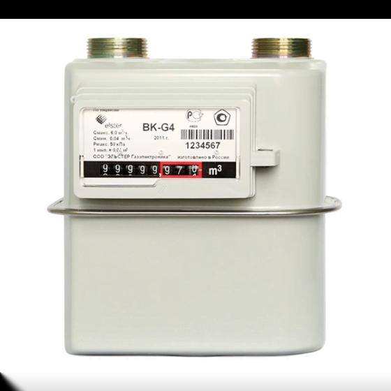 Счётчик газа BK- G-4 левый Арзамас