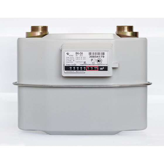 Счётчик газа BK G 6 справа-налево