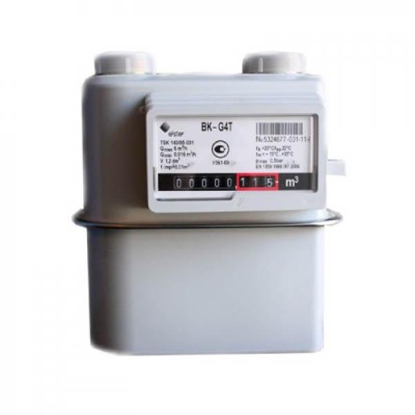 Счётчик газа BK G4 T с мех.коррекцией(справа-налево)