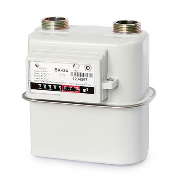 Счётчик газа BK G4(справа-налево)