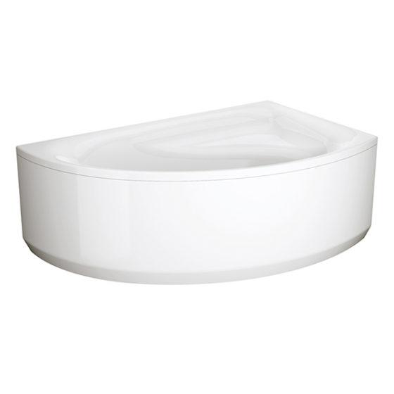 Ванна MEZA 160100 левая и правая + рама+панель Cersanit